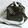 พร้อมส่ง ADB-3388 สีเขียวมะกอก กระเป๋าแฟชั่นสไตล์ HM-Lindy-26 เกรดพรีเมี่ยมพร้อมสายสปอร์ตแบบปรับได้ มีถุงผ้า*ไม่ปั๊มแบรนด์