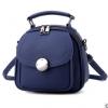 พร้อมส่ง กระเป๋าเป้สะพายหลังผู้หญิงใบเล็ก ปรับสะพายข้างได้ แฟชั่นเกาหลี รหัส Yi-2501 สีน้ำเงิน 1 ใบ
