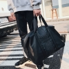 Pre-order กระเป๋าใบใหญ่ ถือและสะพายผู้ชายนักธุรกิจ กระเป๋าถือเดินทาง แฟขั่นเกาหลี รหัส Man-9963 สีดำ