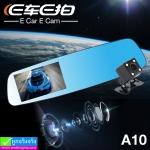 กล้องติดรถยนต์ E Car E Cam A10 2 กล้อง หน้า/หลัง ราคา 1,360 บาท ปกติ 3,410 บาท