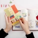 สติ๊กเกอร์ชุด : Romantic flower stickers