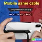 สายชาร์จ USAMS U9 Gaming Charging Type-C ราคา 210 บาท ปกติ 520 บาท