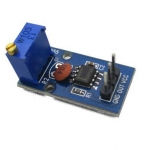 NE555 Pulse Generator Module (Adjustable Frequency)