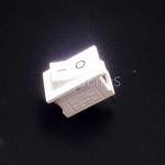 สวิตช์ไฟเปิด/ปิด 15x21mm Power Switch 2 ขา KCD1-101 สีขาว