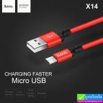 สายชาร์จ hoco X14 Micro ราคา 60 บาท ปกติ 150 บาท