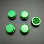 สีเขียว B3F Tactile Switch Cap Round Button Cap 12x12x7.3mm แพค 5 ตัว สำเนา สำเนา สำเนา