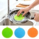 ซิลิโคนล้างจาน ที่ล้างจาน ฟองน้ำล้างจาน ซิลิโคน