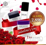 Valentine's Day 2018 SET V2 Revolution serum1 premium black pearl estrella premium gold ครีมวีทู เซ็ต +V2 revolution Wonder Night repair 30 ml