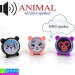 ลำโพง บลูทูธ ANIMAL mini speaker ราคา 360 บาท ปกติ 900 บาท
