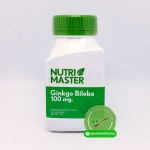 Nutri Master Ginkgo Biloba 100 mg นูทรี มาสเตอร์ จิงโกะ บิโลบา
