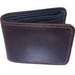 Very Nice Cowhide Leather BiFold Wallet For You กระเป๋าสตางค์ แบบ 2 พับ แบบหนังย่นสวยเก๋สะดุดตาหนังนิ่ม นุ่มมือ