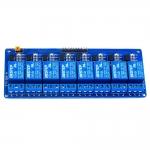 8 Channel Relay 12V 10A (Optocoupler) รีเลย์ 8 ช่อง (คละยี่ห้อของหัวลีเลย์)