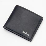 พร้อมส่ง กระเป๋าสตางค์ใบสั้น กระเป๋าเงินผู้ชาย หนัง แฟชั่นเกาหลี ยี่ห้อ baellerry รหัส BA-D3001