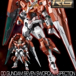 [P-Bandai] RG 1/144 00 Gundam Seven Sword/G Inspection Colors