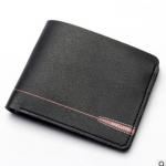 พร้อมส่ง กระเป๋าสตางค์ใบสั้นผู้ชาย นักธุรกิจ แฟชั่นเกาหลี ยี่ห้อ baellerry รหัส BA-DR011 สีดำ 1 ใบ *ไม่มีกล่อง