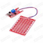 Raindrop Humidity Test Sensor Module Red PCB