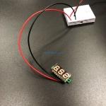 "0.28"" Digital DC volt meter 2.4-30V โวลต์มิเตอร์ 2.4-30V ขนาด 0.28 นิ้ว (สีส้ม)"