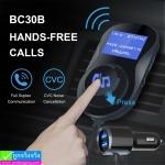 ที่ชาร์จในรถ Car Charger BC30B Bluetooth FM ราคา 429 บาท ปกติ 1,075 บาท
