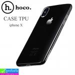เคส iPhone X hoco TPU ราคา 75 บาท ปกติ 150 บาท