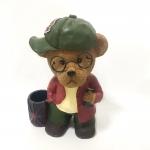 ออมสินหมี ใส่ปากกาได้