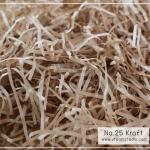 กระดาษฝอยสีน้ำตาล No.25 Kraft