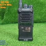 GP-T98ดำ วิทยุสื่อสารโปรแกรมความถี่ VHF136-174MHz. 16CH.FM.(ยักแคระน้อย)