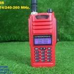 IC-A58 เครื่องแดง 2 ย่าน VHF/CB กันน้ำ