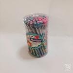 ดินสอต่อไส้ลายโลมา กระป๋องละ 50 แท่ง