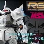 [P-Bandai] RG 1/144 MS-06R-1A Zaku II [Shin Matsunaga]