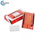 Mega Prototype Shield + Free Mini Breadboard PCB สีแดง (ยี่ห้อ Keyes)