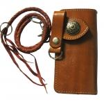 Long Wallet Brown กระเป๋าสตางค์หนังวัวเเท้เท่ๆ สวยหรูสำหรับ สุภาพบุรุต