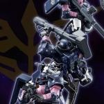 [P-Bandai] RG 1/144 MS-06R-1A Black Tri-Stars Zaku II [Triple Action Set]