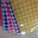 กระดาษฟรอยด์พิมพ์ลาย 50*70 ซม (ราคา/100แผ่นคละสีตามรูป)