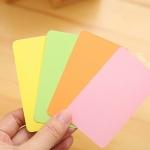 กระดาษการ์ดคละสี 250 แกรม (90 ใบ)