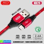 สายชาร์จ XO NB29 Micro ราคา 110 บาท ปกติ 280 บาท