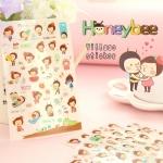 สติ๊กเกอร์ชุด : Honeybee village sticker