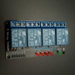 4 Channel Relay Module 5V 10A with LED 5 หลอดแสดงสถานะ