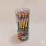 ดินสอต่อไส้มียางลบ (กระป๋อง 30 แท่ง)
