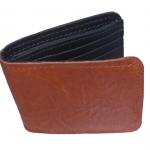 Very Nice Cowhide Leather BiFold Wallet For You กระเป๋าสตางค์ แบบ 2 พับ แบบหนังย่นสวยเก๋สะดุดตาหนังนิ่ม นุ่มมือ สำเนา