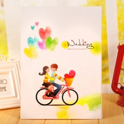 สมุด-Fingerprint Wedding books(ฺBalloons)