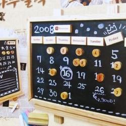 Calendar Black Board-กระดานดำแบบวันที่