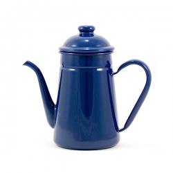 VILA-1 Litre Enamel Tea Pot (Midnight Blue)