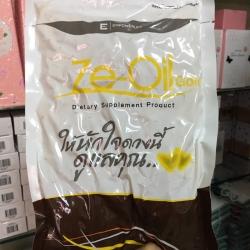 Ze-Oil Glod แบบถุง 500 แคปซูล รูปหัวใจ