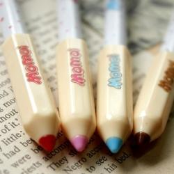 ปากกาเจล-Momoi (สีน้ำเงิน)