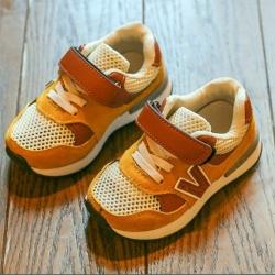 รองเท้า V (Sneaker) สีน้ำตาล