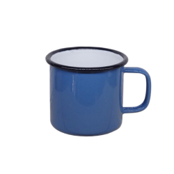 Enamel Mug 10cm w/ Black rim color (Thai-Grade)