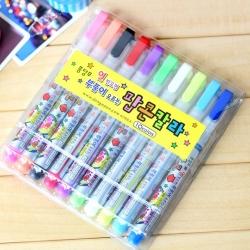 ปากกาสี- Popcorn (10 แท่ง)