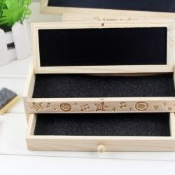 กล่อง+กระดานดำ ใส่เครื่องเขียน