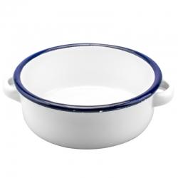 Enamel Pot Bowl Shaped
