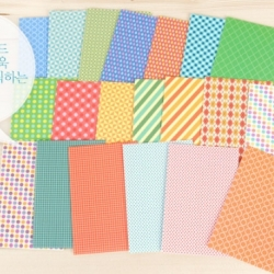 [Polaroid Film Skin]-Retro color pattern